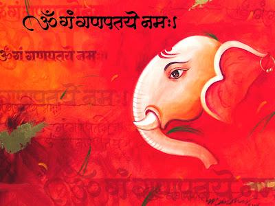 Ganesh Chaturthi Festival Card