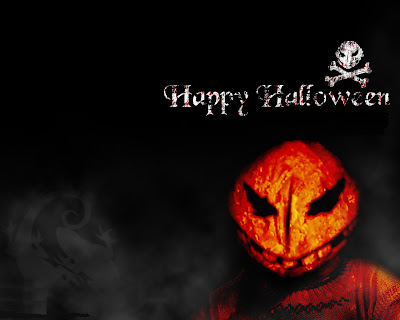 Free Creepy Halloween Card