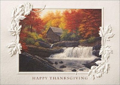 Corporate Thanksgiving Greeting Cards