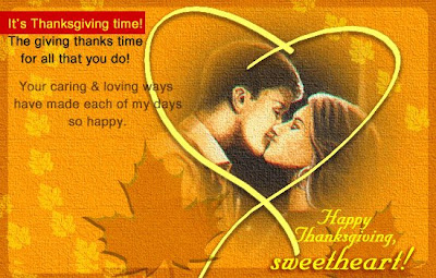 Romantic Thanksgiving Cards