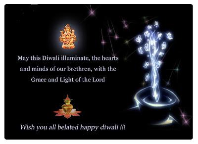 Belated Diwali Cards
