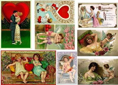 Victorian Valentine Cards Collection