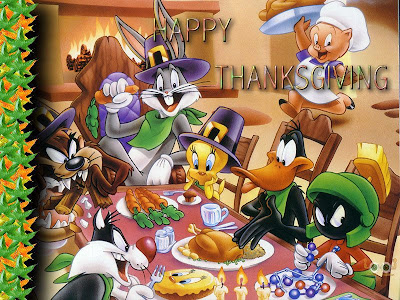 Thanksgiving Cartoon Cards