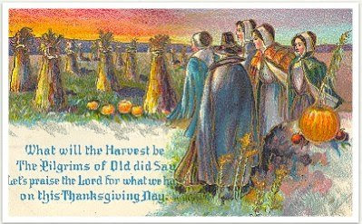 Victorian Thanksgiving Cards