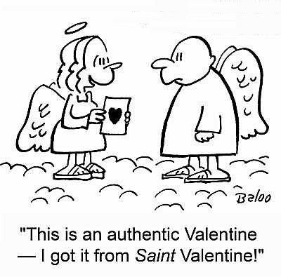 Cartoon Valentine Cards
