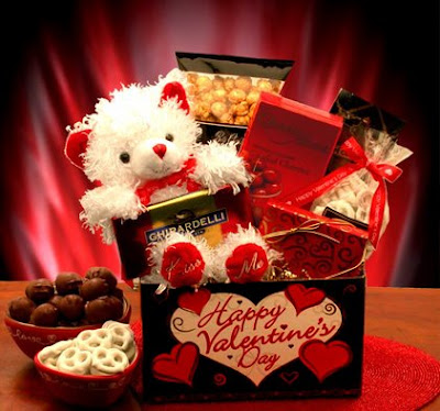 valentine day teddy bear gift