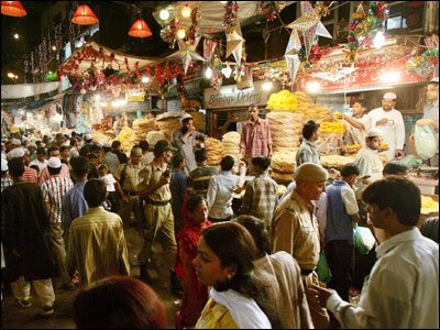 Eid Celebrations in Chandni Chowk