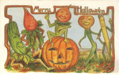 Old Fashioned Halloween Postcards