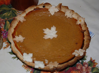 Thanksgiving Pumpkin Pies