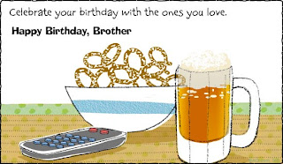 Birthday Greeting Cards: Brother Birthday Cards