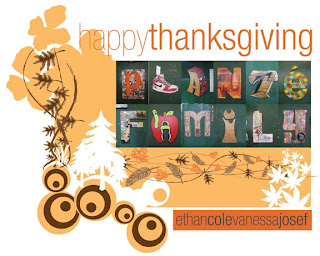 Thanksgiving Family Greeting Card