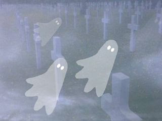 Spooky Graveyard Halloween Wallpaper