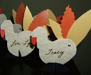 Thanksgiving Dinner Place Cards