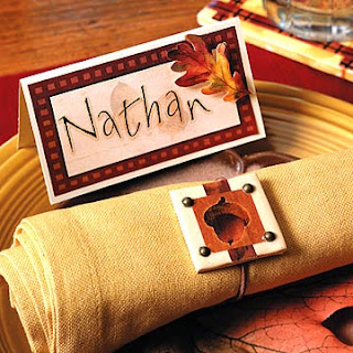 Thanksgiving Name Placecards