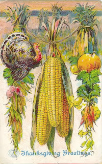 Antique Thanksgiving Postcard