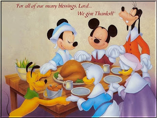 Disney Cartoons Thanksgiving Wallpapers