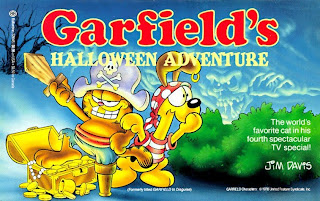 Free Garfield Halloween Cartoon Wallpaper