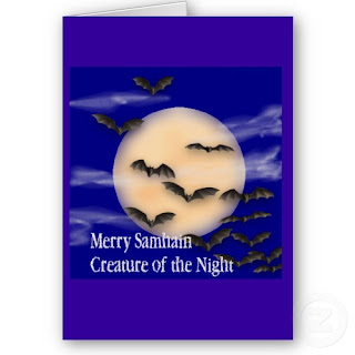 halloween printed note cards