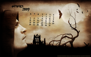 Halloween Calendar Wallpaper