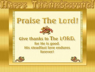 christian thanksgiving prayer card