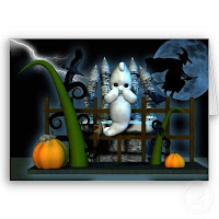 Halloween Baby Ghost Cards