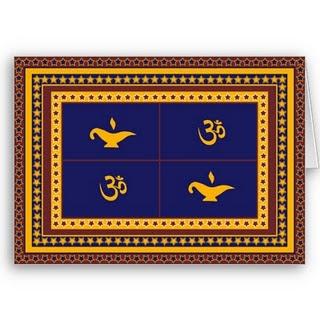 Diwali Om Cards