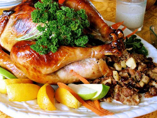 thanksgiving turkey meal wallpaper