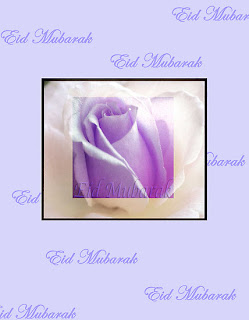 Eid Rose Cards