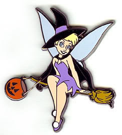 Tinkerbell Halloween Witch