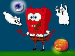 Spongebob Halloween Wishes