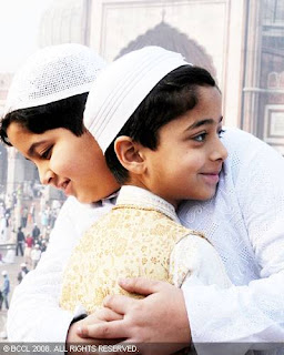 Eid Hug Photo Wishes