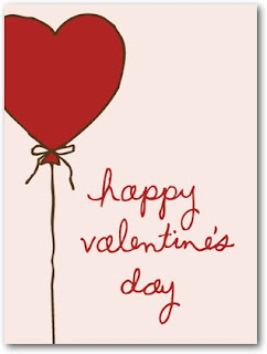 card for him to wish happy valentines day