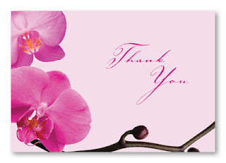 Personalized Thank You Notecards