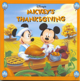 disney cartoon thanksgiving card