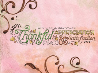 abstract happy thanksgiving background