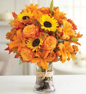 Thanksgiving Bouquet Wishes