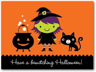 designer halloween greeting cards