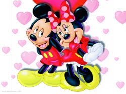 mickey minnie mouse valentine themes