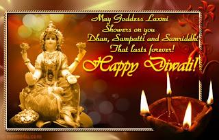 Deity Diwali Cards