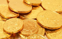 gold coins for diwali
