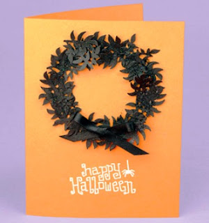 Happy Halloween With A Message Card