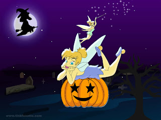 Tinkerbell Halloween Wallpapers