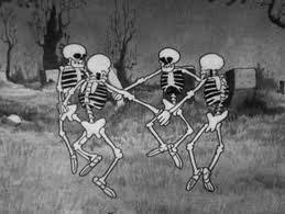 skeleton group dance wallpaper