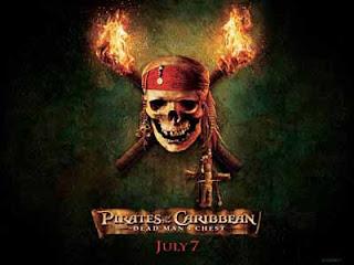 Pirates of Caribbean Halloween Cards