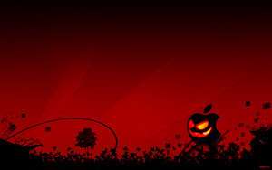 animated halloween pumpkin wallpaper for desktop