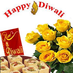Diwali Floral Wishes