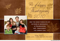 customized thanksgiving wishes