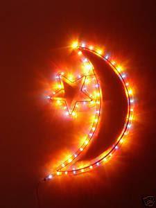 Star And Moon Eid Cards
