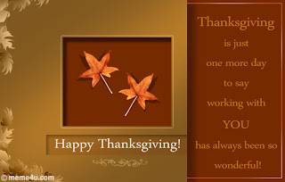 Elegant Thanksgiving Cards