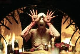 scary halloween evil night